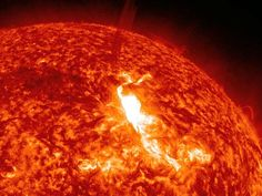 The end of 2011 and early 2012 sees our sun burst into extreme activity (solar flares and CMEs)