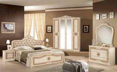 Italienische Schlafzimmer 2 - Temiz Möbel, Italienische Möbel, Schlafzimmer, Luxus, versac elegant,