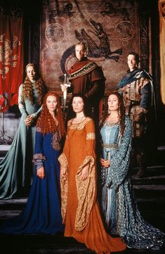 The Mists of Avalon -  Morgaine and Morgause with Vivianne, Gwenwyfar, Arthur and Lancelot