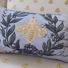 Pierette's My French Family Pillow Cover, I