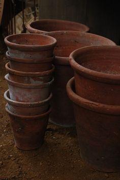 Pots by Petersham Nurseries London