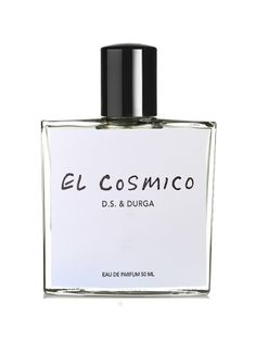 El Cosmico is a unisex fragrance by perfumers David Seth Moltz and Kavi Moltz launched in 2015. It captures the desert airs of the town of Marfa, cosmic axis of West Texas. Top notes include desert shrub, desert pepper and pinyon pine. Heart consists of creosote, oak and khella. Base notes are dry sand accord, khella and shrub wax.