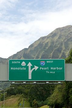Pearl Harbor....drove this way many times....ahhh memories :)