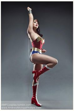 A GORGEOUS Wonder Woman cosplay with lasso of truth! - 11 Wonder Woman Cosplays