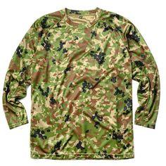 C.A.B.CLOTHING J.G.S.D.F. COOL NICE long-sleeved T-shirt new camouflage 6524 #JGSDF #BasicTee