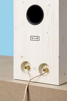 NW3 wooden speaker collection by neue werkstatt