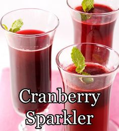 It's Alternative Friday! This weekend why not try the gorgeous Cranberry Sparkler. 1 1/2 ounces Blackberry Puree 2 ounces white cranberry juice 2 to 3 ounces sparkling water 1 sprig mint, for garnish #nonalcoholic #alternativefriday #AlcoholFree