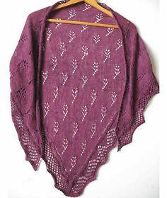 Ravelry: Wild Flower Shawl pattern by Dee Bamford