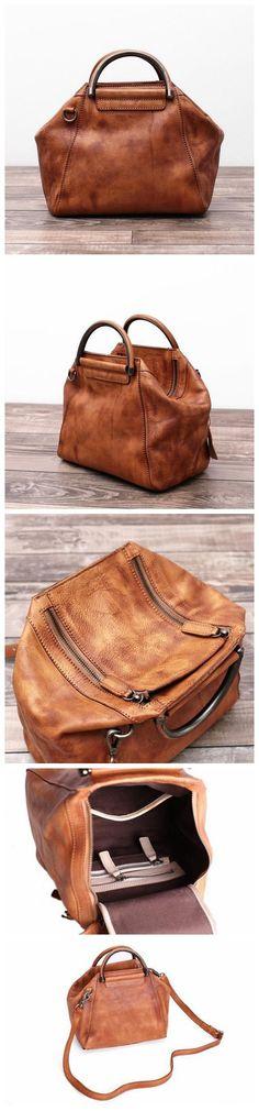 Women's Fashion Leather Handbag Messenger Bag Shoulder Bag Cross Body Bag in Blue WF52