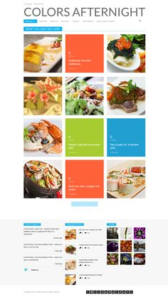 Color After Night  |  Responsive, Simple Wordpress Template  |  themeforest  |  http://freewpresources.com/afternight-colored/