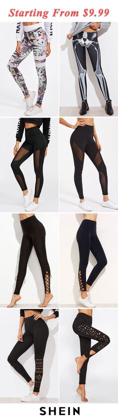 Skinny leggings start at $9.99!