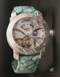 Antoine Preziuso's Stella Polare Tourbillon Muonionalusta Fell From Heaven | Quill & Pad