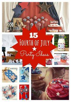 Fourth of July Party Ideas www.spaceshipsandlaserbeams.com