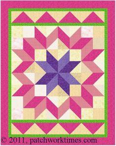 carpenter's star quilt tutorial