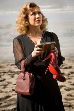 River Song. Got the knock-off shoes, found a reasonable purse substitute, and I'm working on combining patterns for the dress. Fingers crossed!