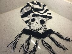 One of my first scarves, and still one of my most popular was this Jack Skellington, Nightmare Before Christmas scarf. It's lots of fun and easy to do. Jack is a unique character and always…