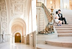lovely sf city hall wedding - Connie Lyu Photography