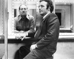 THIEF - James Caan visits Willie Nelson in prison - Directed by Michael Mann - United Artists - Publicity Still. Godfather Actors, The Godfather, Most Popular People, Joseph Heller, Actor Studio, Steve Perry, Willie Nelson, We Movie