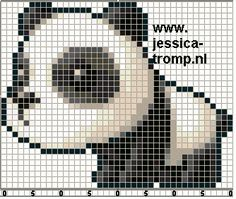 CUTIE Panda! Cross stitch