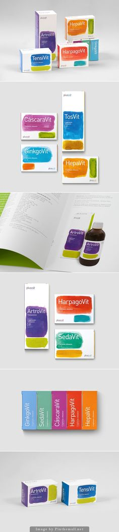 PlusVit-Brand and packaging line for natural composition of food supplements sold in pharmacies.