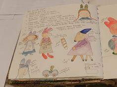 Julie Arkell workshop: student notes