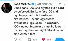 In September 2017, China banned both ICOs and cryptocurrency exchanges. Some of these busine...