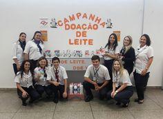 Arrecadação de leite para instituições beneficentes no Poupatempo Fernandópolis.