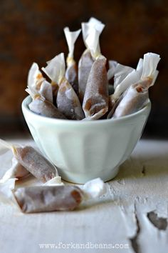 gluten free/vegan salted caramels...I am sooooo going to make these for the holidays!!!!