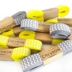 Fita Chevron - Cinza