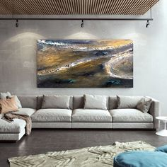 Original Canvas Wall Art Dorm Decor Abstract Painting image 9 Large Wall Canvas, Extra Large Wall Art, Canvas Wall Art, Large Artwork, Modern Wall Decor, Home Decor Wall Art, Art Decor, Oversized Wall Art, Abstract Canvas Art