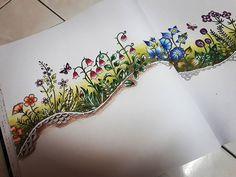 under progress... #johannabasford  #secretgardencolouringbook #enchantedforest…