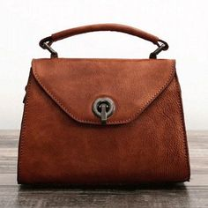Genuine Leather Handmade Handbag Crossbody Bag Shoulder Bag | Evergiftz