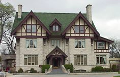 In 1910 Winnipeg had 19 millionaires, more per capita than any other Canadian city. This was the home of J. Ashdown, one of those millionaires, who started out in hardware. He was also mayor of Winnipeg for 2 years. Tudor Cottage, Tudor House, Bay Windows, Castle In The Sky, Lean To, Sunrooms, Edwardian Era, Abandoned Houses, Dream Houses