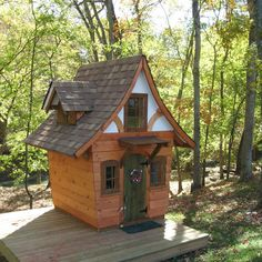 Storybook Cottages | Storybook Cottage Playhouse Plans