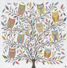'Owl Tree' by Eliza Piro