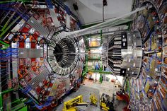 Scientists at CERN achieve high-power collisions of sub-atomic particles in the Large Hadron Collider