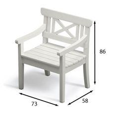 Stuhl Drachmann Maße