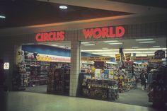 Circus World Toy Store. I can still remember my parents letting pick out a toy when we would visit the mall. Mall Stores, Retail Stores, Catalog Shopping, Shopping Malls, 1980 Toys, Detroit History, Old School Toys, Old Signs, Retro Toys