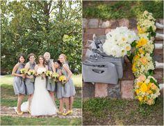 Gray Yellow Wedding Colors