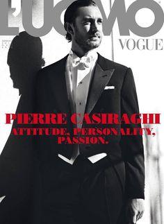 Pierre Casiraghi por Tom Munro para L'Uomo Vogue