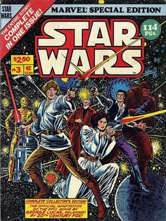 Marvel Star Wars Treasury cover