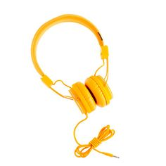 From Most Wanted: Small Wonders: The Best New Designer Clothes For Kids  Urbanears headphones in pumpkin, $60