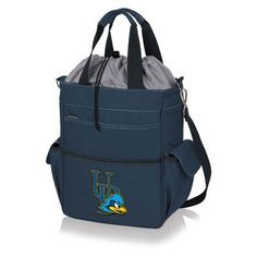 Picnic Time 20 Can NCAA Activo Tote Picnic Cooler NCAA Team: University Of Delaware Blue Hens, Color: Navy