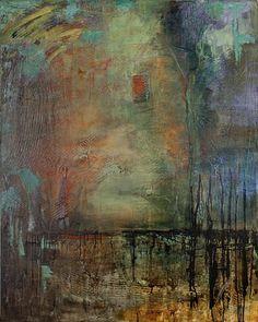 Hopeful Swamp  2011  acrylic on canvas  60 x 48 inches  $4000