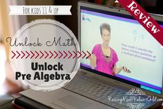 """Alesia shows much enthusiasm teaching, that makes the soul of the program."" @unlockmath #HSReviews #homeschool #math #algebra"
