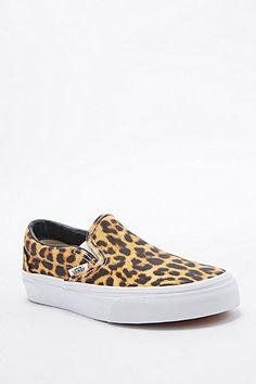 Vans Classic Slip-On Shoes in Cheetah