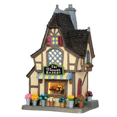 Neighborhood flower shop adds a nice touch to your village display - Product…
