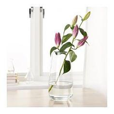 IKEA - BERÄKNA, Vaas, De vaas is perfect voor bloemen met lange stelen.De glazen vaas is mondgeblazen door een vakman.