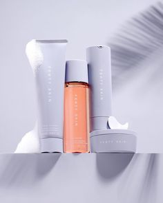 """FENTY SKIN on Instagram: """"For late nights + early mornings: The ALL FOUR ONE 4-PIECE SKINCARE BUNDLE brings you full-size #FENTYSKIN AM + PM skincare at a value.…"""" Am Pm, Late Nights, Brand Packaging, Early Morning, Beauty Makeup, Bring It On, Lipstick, Skin Care, Forever Young"""