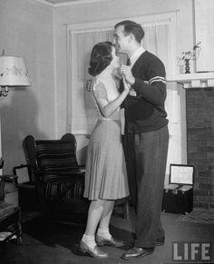Couple Dancing 1950s